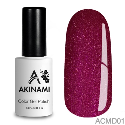 Akinami Color Gel Polish Magic Dance 01