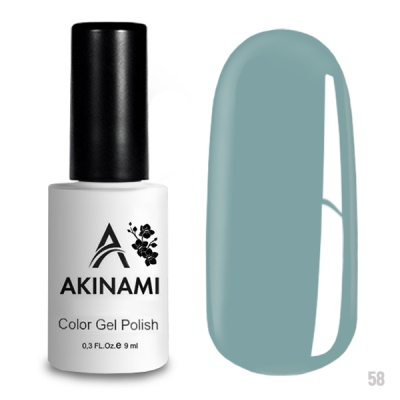 Akinami Color Gel Polish Limpet Shell AСG058