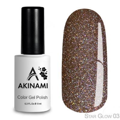 Akinami Color Gel Polish Star Glow 03