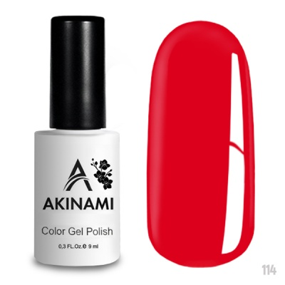 Akinami Color Gel Polish Space Red AСG114