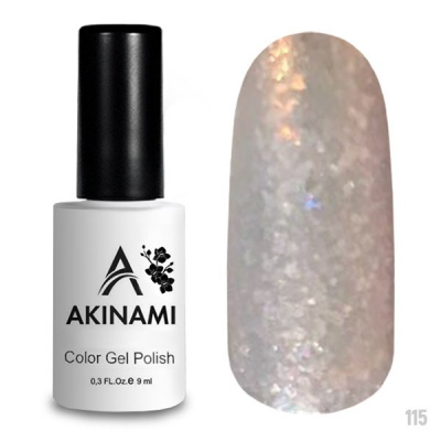 Akinami Color Gel Polish Bright Glass AСG115