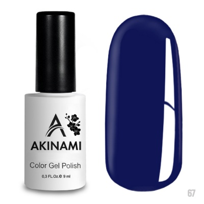 Akinami Color Gel Polish Cobalt AСG067
