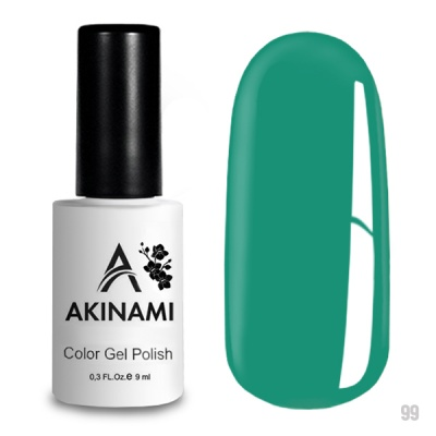 Akinami Color Gel Polish Turquoise AСG099