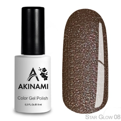 Akinami Color Gel Polish Star Glow 08