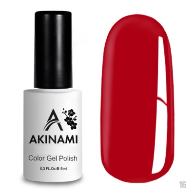 Akinami Color Gel Polish Scarlet AСG016